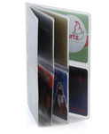 Hipster Double High 4 Page Wallet Insert