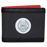Men's Leather Bifold Wallet by Budweiser