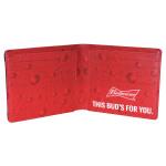 Men's Leather Bifold Wallet Inside