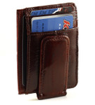 Magnetic Money Clip - Burgundy