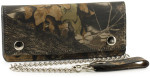 Camo Trucker Wallet with Chain