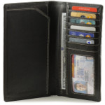 Leather Checkbook Wallets