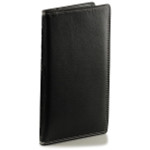 Leather Checkbook Wallet Mens