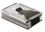Modern RFID Blocking & Expandable Credit Card Holder with Money Clip