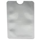 RFID Credit Card Sleeve - Silver