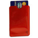 RFID Credit Card Sleeve - Red