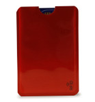 RFID Credit Card Insert - Red