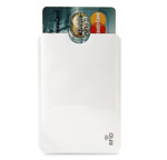 RFID Credit Card Insert - White