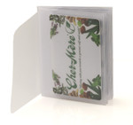 Trifold 8 Page Wallet Inserts with 2 Tabs