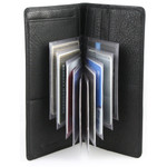 Plastic Wallet Inserts - Secretary 10 Page Credit Card Holder