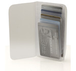 Plastic Wallet Inserts - Secretary 10 Page Credit Card Holder Tab