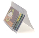 Plastic Wallet Inserts - Secretary 5 Page Credit Card Holder Side
