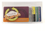 Plastic Wallet Inserts - Secretary 5 Page Credit Card Holder