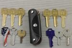 Swiss Leather Key Holder