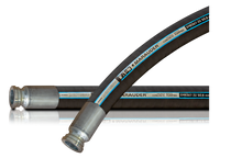 Marauder HD Wire Reinforced Concrete Pumping Hose (Heavy Duty Ends)