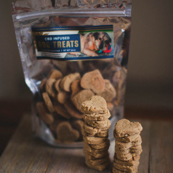 CBD for Dogs - Infused Dog Treats from Lake Country Growers - 2mg CBD each