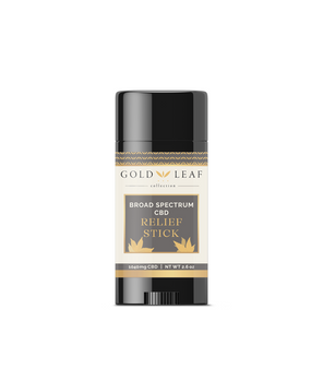 Gold Leaf Collections #1 best selling product just got BIGGER! Jumbo CBD Relief Stick