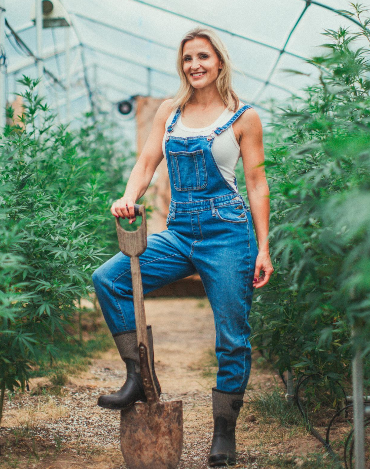 Co-founder Lake Country Growers Rebecca Ramage