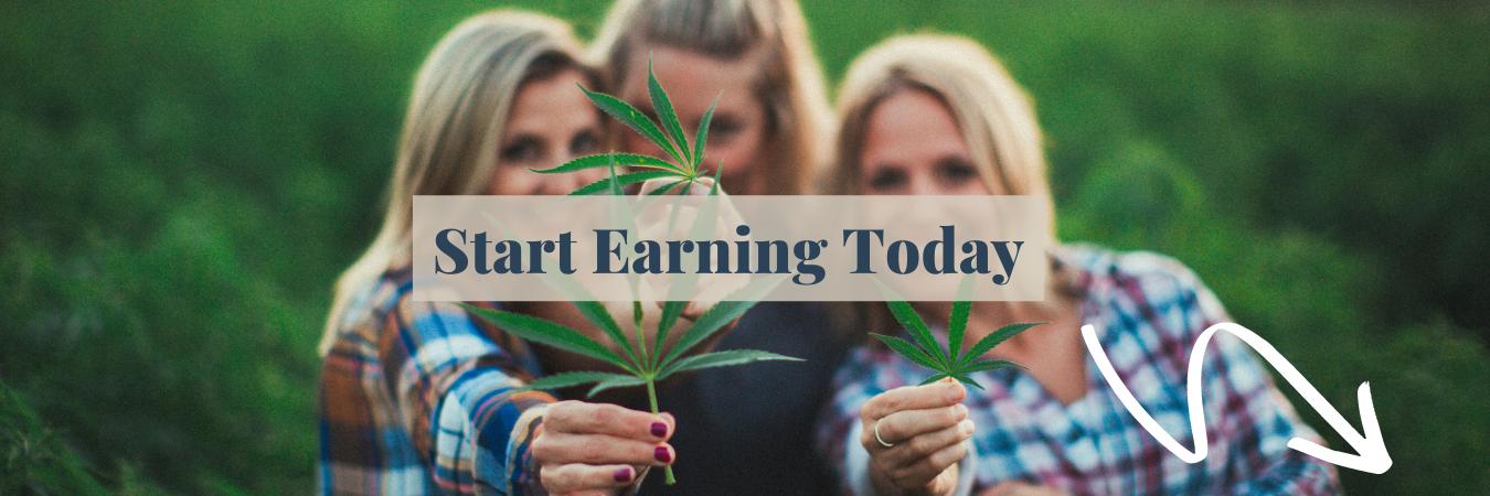 Secret Stash Cash Reward program earn free CBD products