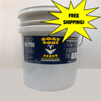 Boat Goat Scrub is a powerful Hull Cleaner for boats that is safe for use on all boat hulls and metals. It's noncorrosive and environmentally safe attributes make this cleaner the superior choice for your boat cleaning work. Compared to the harsh acids often used today, Boat Goat Scrub is a safe, and gentle cleaner for you, your boat, and the environment.