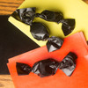 Black carmel wrappers, package of 100