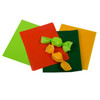 Honey Gold, Pistachio, Green, and Orange Caramel Wrap