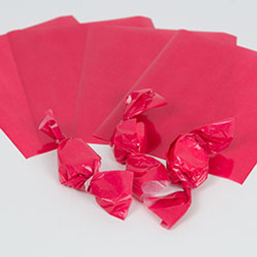 Red Caramel Wrappers, 100 Sheets