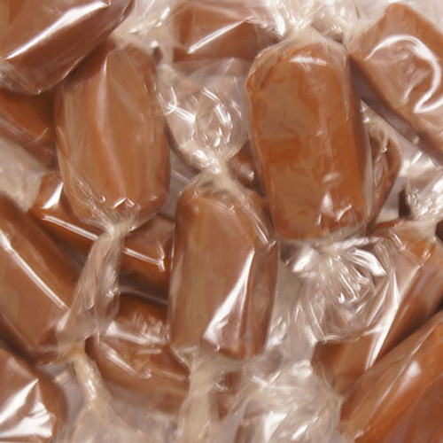 "Cellophane Caramel Wrappers, 5"" x 5"" - 100 pack"