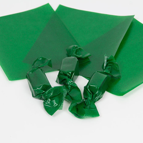 Green Caramel Wrappers