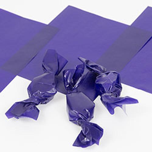 "Purple Candy Wrappers 4"" x 5"" - 1 lb. Pkg. (WW-1PURPLE)"