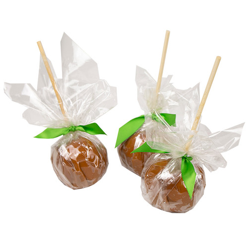 "Wrap caramel apples in Cellophane - 12 x 12"" - 1000 pack"