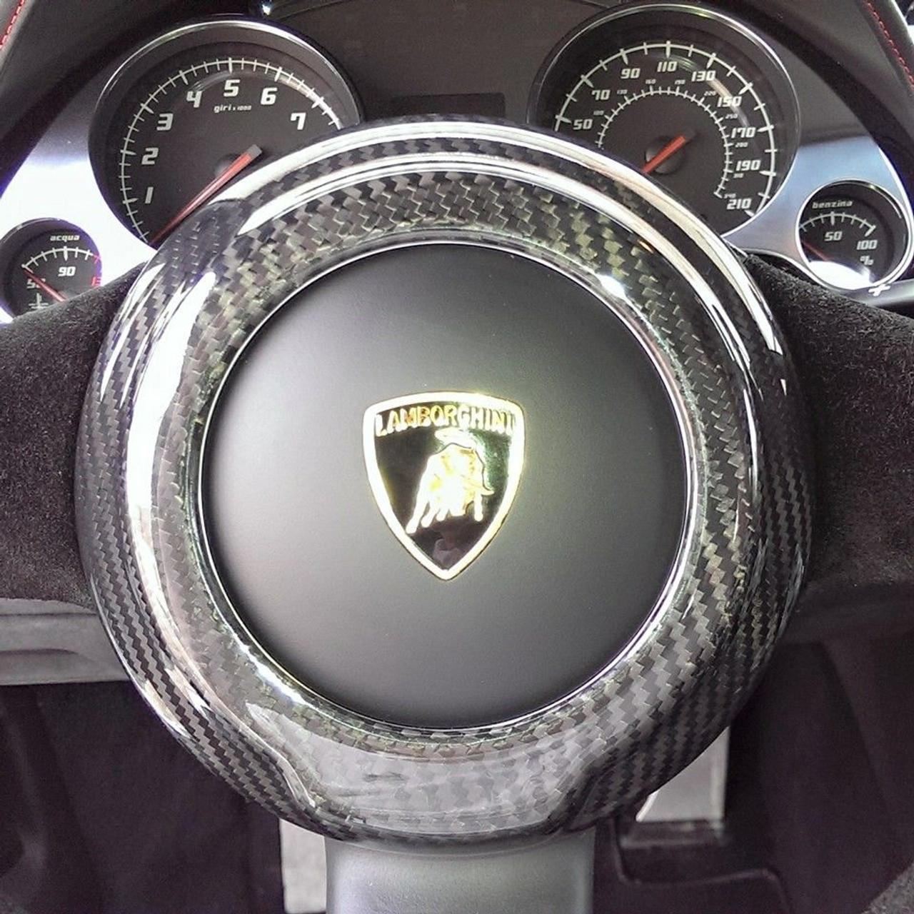 Lamborghini Gallardo 04-13 Carbon Fiber Steering Wheel ...