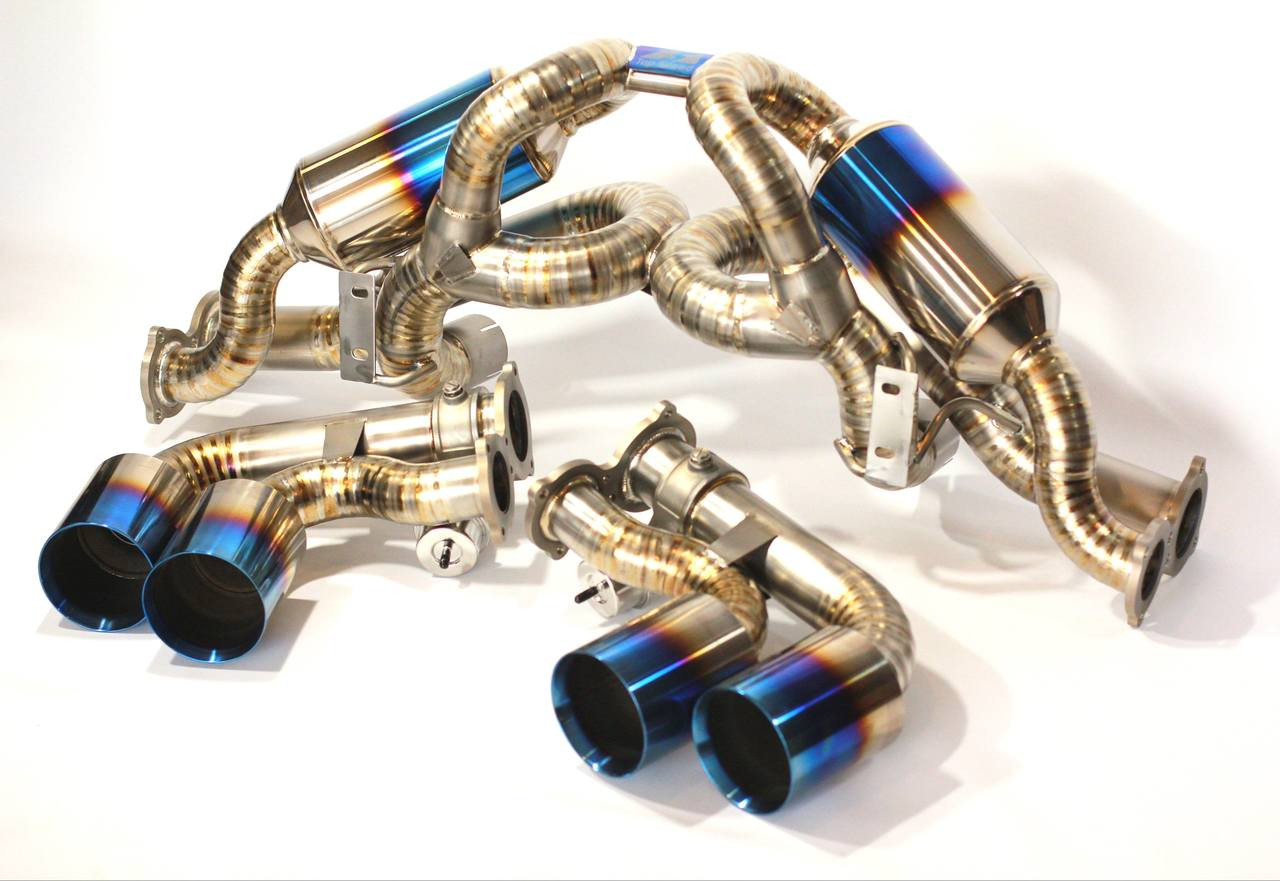 Ferrari F430 Coupe Spider 05 09 Top Speed Pro 1 Performance Titanium Exhaust
