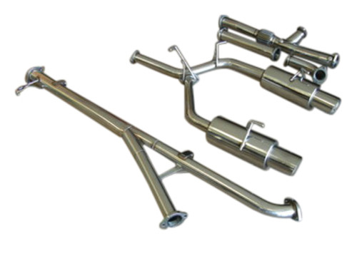"""Mitsubishi 3000GT VR4 Turbo Dodge Stealth RT 91-99 3"""" Turbo-Back Exhaust System"""