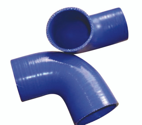 """Universal Silicone Hose 90�� 3.5"""" to 3.5"""" 89mm/89mm Per Each"""
