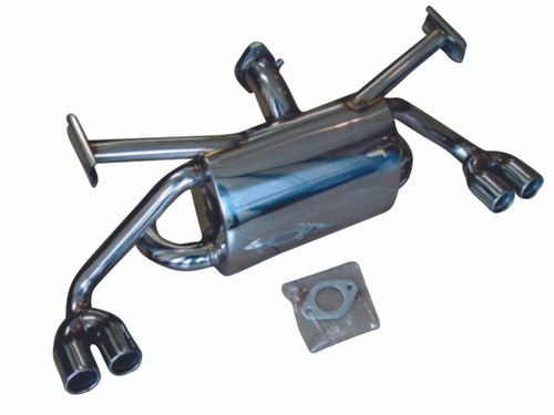 Ferrari F355 95-99 Coupe Spider F1 or 6-Speed Manual Catback Exhaust System