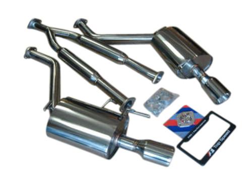 Infiniti G35 G37 Sedan 07-14 Top Speed Pro-1 Y-pipe Back Exhaust System