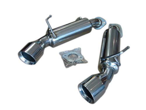 Nissan 370Z 370GT VQ37VHR 09-15 Top Speed Pro 1 Axle-back Dual Exhaust Systems