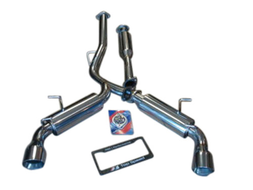 Scion FRS Subaru BRZ GT86 13-UP Top Speed Pro-1 Dual Catback Exhaust System