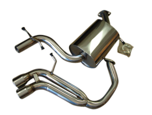 VW Golf V GTi 2.0T 06-09 Top Speed Pro-1 Performance Catback Exhaust System