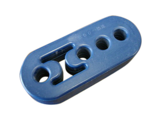 "Universal Adjustable Muffler Hanger 4 1/4""L Hole to Hole 3"" 2 1/4"" 1 5/8"" (1Pc)"