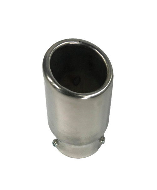 "Universal Bolt on Exhaust Tip Muffler Tips 2"" ID 5.5"" Length 63mm Round Tip"