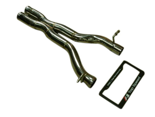 Mercedes Benz W204 C63 AMG 08-13 W212 E550 V8 10-12 Race/Track X Mid Pipe