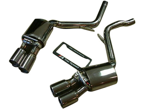 Porsche 970 Panamera V6/V8/S/4S/Turbo 10-18 Top Speed Pro-1 Performance Axle-Back Exhaust System (With Valve)