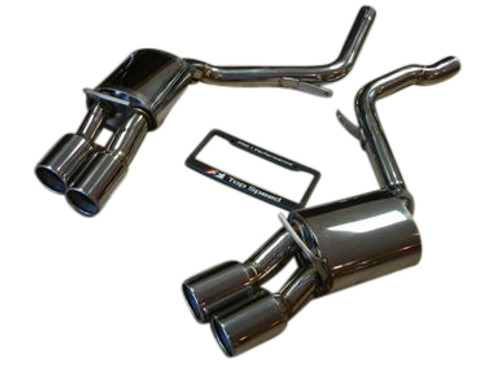 Porsche 970 Panamera V6/V8/S/4S/Turbo 10-18 Top Speed Pro-1 Performance Axle-Back Exhaust System (Without Valve)