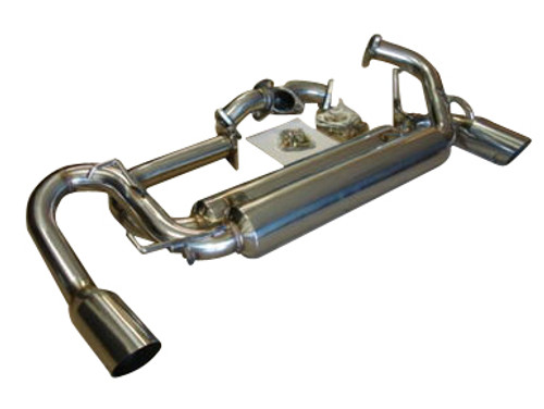 Acura NSX 91-96 Dual Canister Single Tip Exhaust