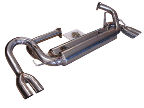 Acura NSX 97-05 Dual Canister Quad Tips Exhaust