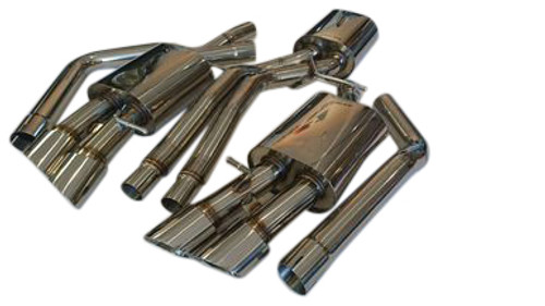 Audi A7 10-13 Conversion Performance Exhaust Systems to S7 Looks