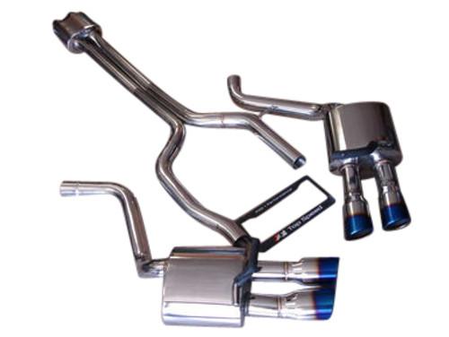 Porsche 970 Panamera V8/S/4S/Turbo 10-13 Catback Exhaust System