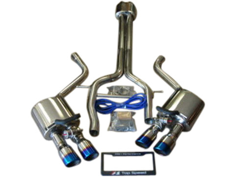 Porsche 970 Panamera V8/S/4S/Turbo 10-13 Catback Exhaust System (With Valves)